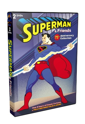 75th Anniversary Cartoon Colle Superman & Friends Nr 2 DVD