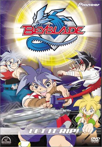 Beyblade Vol. 1 Let It Rip Clr Jpn Lng Eng Dub Sub Nr