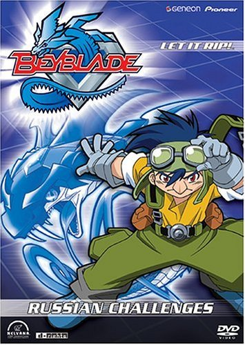 Beyblade Vol. 9 Russian Challenges Clr Nr