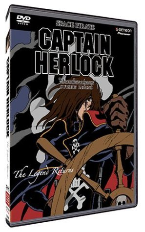 Captain Herlock Vol. 1 Legend Returns Clr Jpn Lng Eng Dub Sub Nr