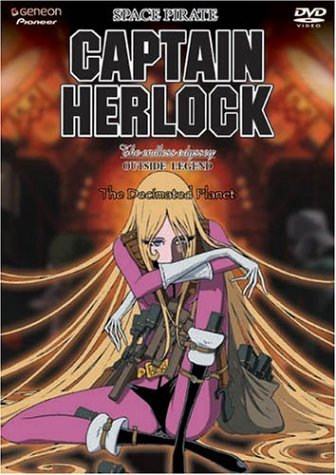 Captain Herlock Vol. 3 Decimated Planet Clr Jpn Lng Eng Dub Sub Nr