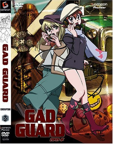 Gad Guard Vol. 2 Corruption Clr Jpn Lng Eng Sub Dub Nr
