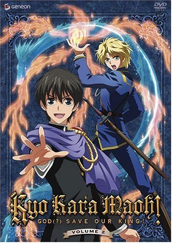 Kyo Kara Maoh! God Save Our Ki Vol. 2 Clr Ws Jpn Lng Eng Dub Sub Nr
