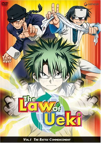 Law Of Ueki Vol. 1 Battle Commencement Clr Nr
