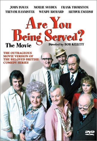 Are You Being Served Inman Sugden Thornton Banniste Clr Aws Nr