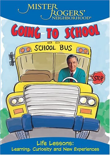 Mr. Rogers Going To School Clr Chnr