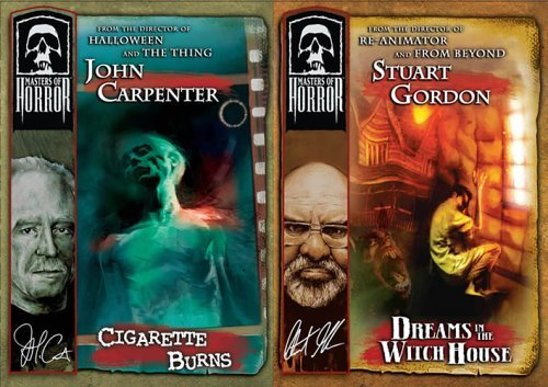 Masters Of Horror Cigarette Burns Dreams In The Witch House DVD Nr