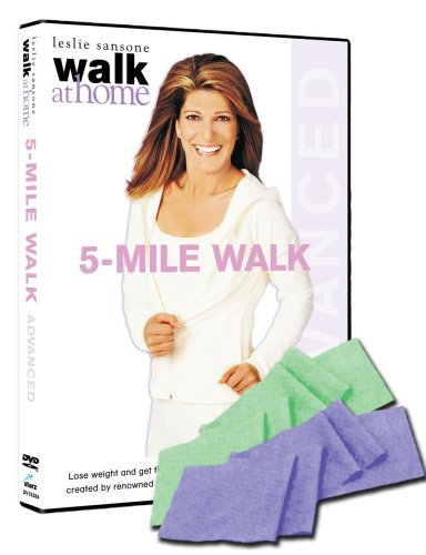 Walk At Home 5 Mile Walk Advanced Sansone Leslie Nr Incl. Toning Band