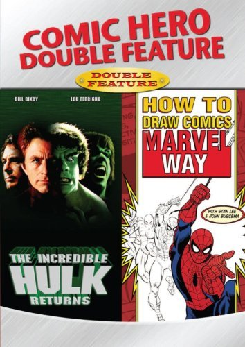 Incredible Hulk Returns How To Comic Hero Double Feature Nr