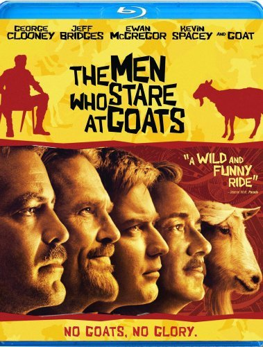 Men Who Stare At Goats Clooney Mcgregor Spacey Bridge Blu Ray Ws R