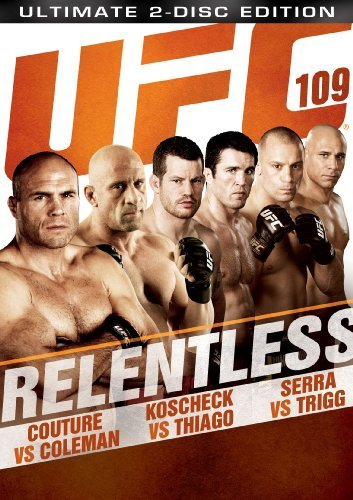 Ufc Ufc 109 Relentless Ws Nr