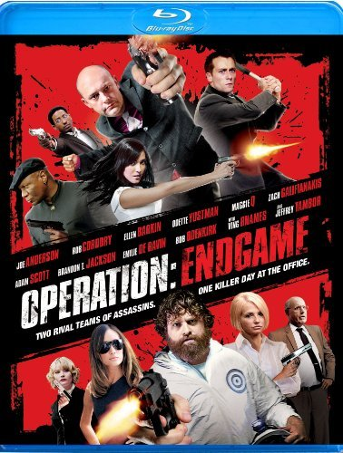 Operation Endgame Galifianakis Corddry Rhames Blu Ray Ws R