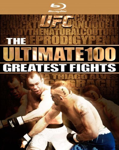 Ultimate 100 Greatest Fights Ufc Ws Blu Ray Nr