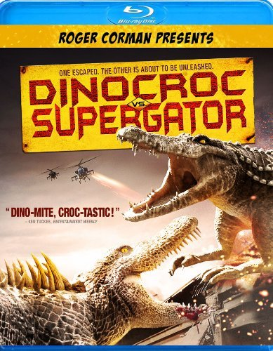 Dinocroc Vs. Supergator Carradine David Blu Ray Ws Nr