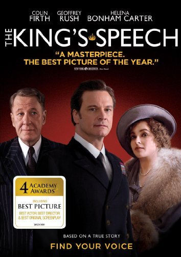 King's Speech Firth Rush Bonham Carter DVD R
