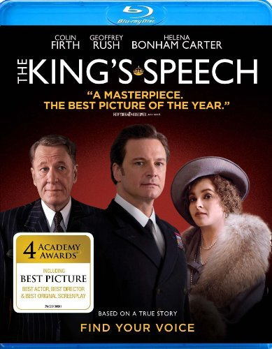 King's Speech Firth Rush Bonham Carter Blu Ray Ws R