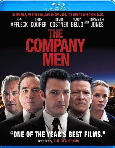 Company Men Affleck Cooper Jones Costner Blu Ray Ws R