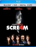 Scream 4 Campbell Cox Arquette Blu Ray DVD Dc R