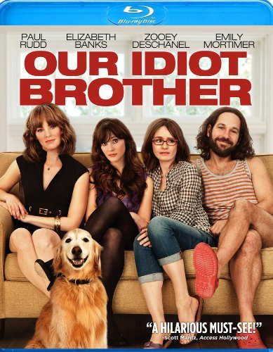 Our Idiot Brother Rudd Mortimer Banks Deschanel Blu Ray Ws R