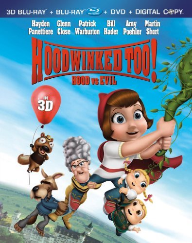 Hoodwinked Too! Hood Vs. Evil Hoodwinked Too! Hood Vs. Evil Blu Ray Ws 3d Nr 3 Br Incl. DVD Dc