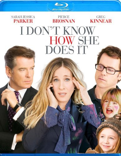 I Don't Know How She Does It Parker Kinnear Brosnan Blu Ray Ws Pg13