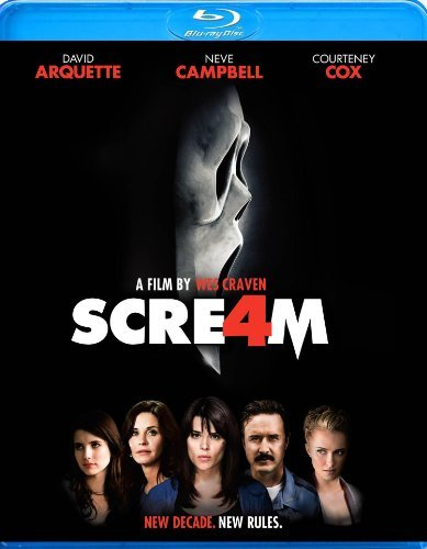 Scream 4 Campbell Arquette Cox Roberts Blu Ray Ws Nr