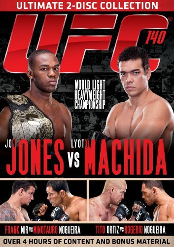 Ufc Ufc 140 Jones Vs. Machida Ws Nr