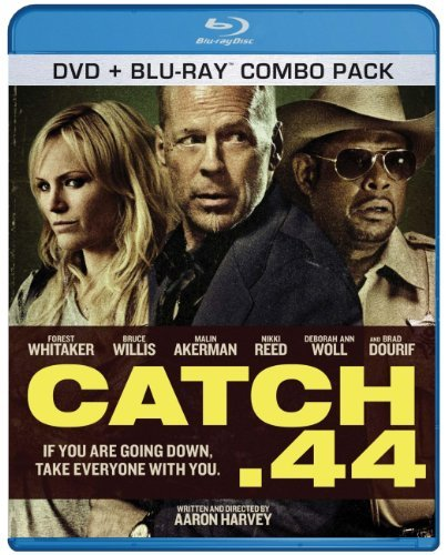 Catch .44 Willis Akerman Reed DVD + Blu Ray Combo Pack