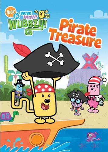 Pirate Treasure Wow! Wow! Wubbzy Nr