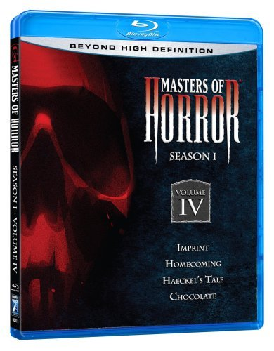 Masters Of Horror Vol. 4 Season 1 Ws Blu Ray R