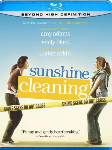 Sunshine Cleaning Adams Blunt Arkin Blu Ray Ws R