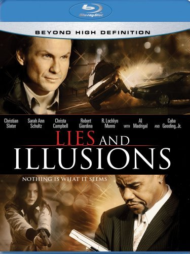 Lies & Illusions Slater Gooding Schultz Campbel Blu Ray Ws R