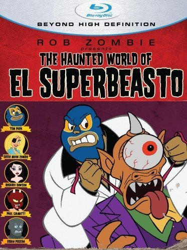 Haunted World Of El Superbeast Haunted World Of El Superbeast Blu Ray Ws R