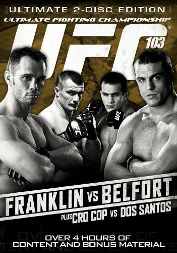 Ufc Ufc 103 Franklin Vs Belfort Nr 2 DVD