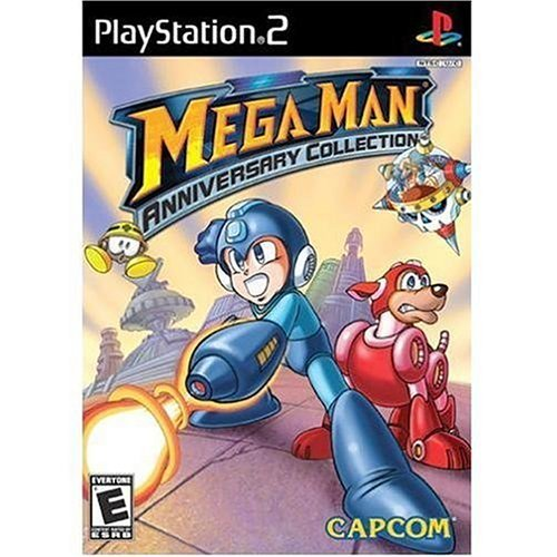 Ps2 Megaman Anniversary Collection