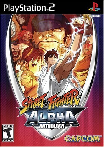 Ps2 Street Fighter Anthology