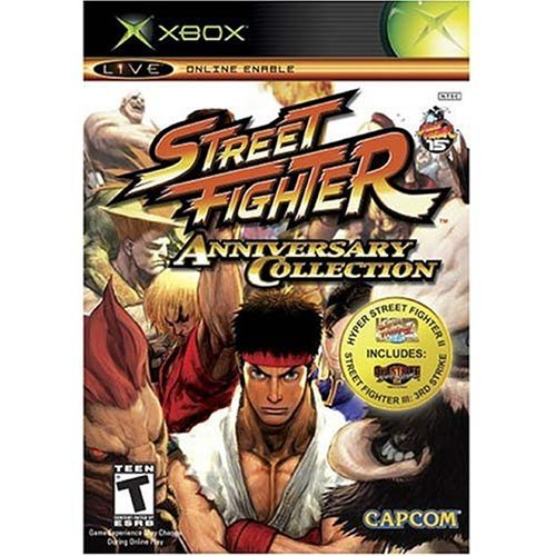 Xbox Street Fighter Anniversary Collection