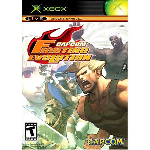 Xbox Capcom Fighting Evolutions