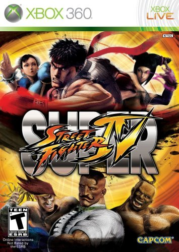 Xbox 360 Super Street Fighter 4 Capcom U.S.A. Inc. T