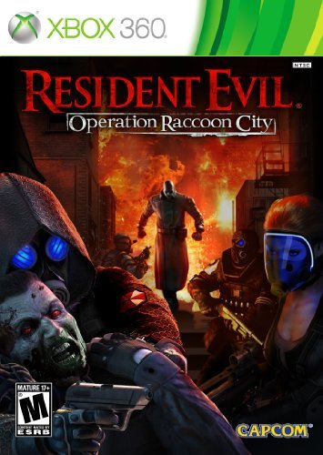 Xbox 360 Resident Evil Operation Racco Capcom U.S.A. Inc. M