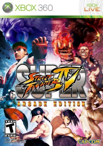 Xbox 360 Super Street Fighter 4 Arcade Capcom U.S.A. Inc. T