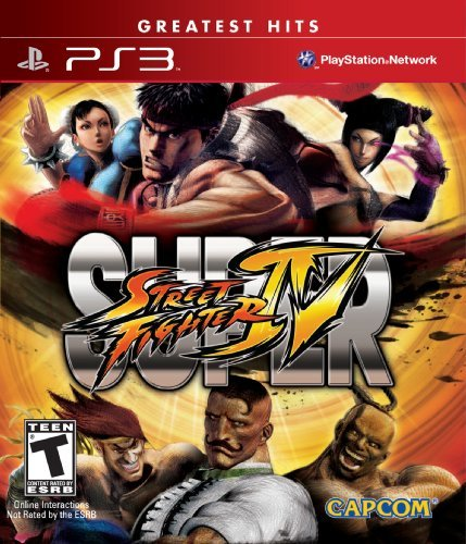 Ps3 Super Street Fighter 4 Capcom U.S.A. Inc. T