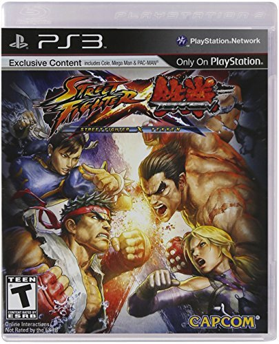 Ps3 Street Fighter X Tekken Capcom U.S.A. Inc. T