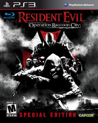 Ps3 Resident Evil Operation Raccoon City Special Ed. M