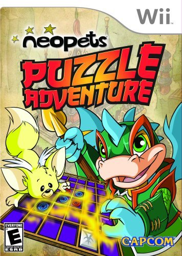 Wii Neopets Puzzle Adventure