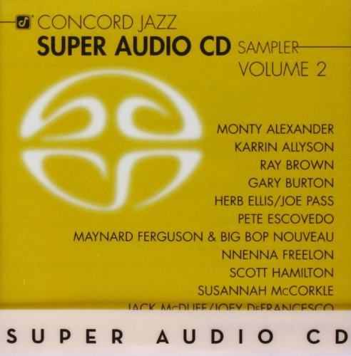 Concord Jazz Super Audio CD Sa Vol. 2 Concord Jazz Super Audi Sacd