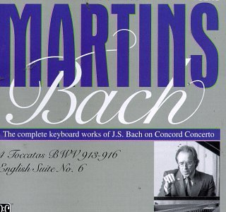 J.S. Bach Toccata Keybd (4) Ste English Martins*joao Carlos (keybd)