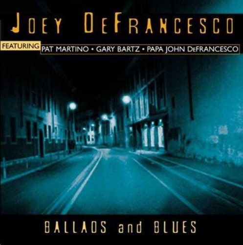Joey De Francesco Ballads & Blues CD R