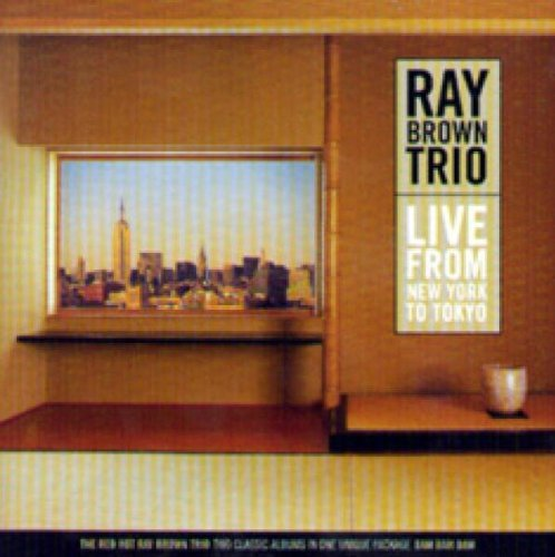 Ray Trio Brown Live From New York To Tokyo 2 CD
