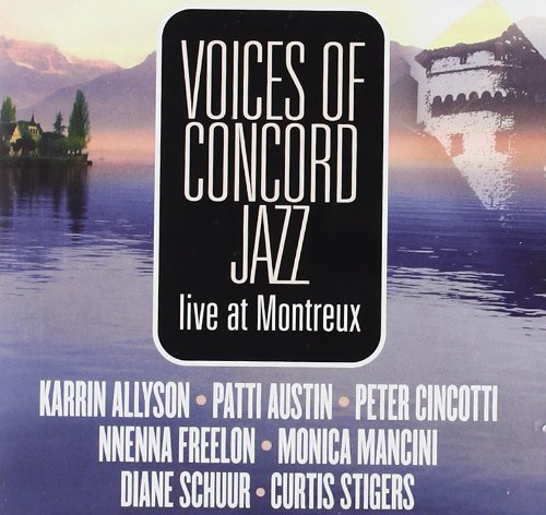 Voice Of Concord Jazz Live At Montreux 2 CD Set